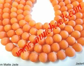 Matte Frosted Orande Color Jade !!!!