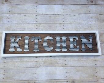 Marvelous Rustic Farmhouse Sign  Rustic Kitchen Sign  Rustic Kitchen Decor  Farmhouse  Decor  Wooden