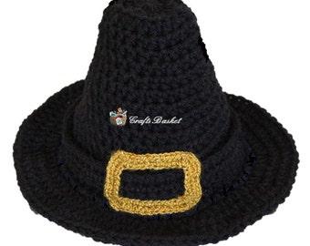 Baby Pilgrim Hat PATTERN