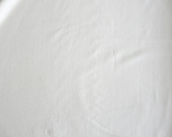 Fabric - Viscose elastane jersey fabric - ivory.