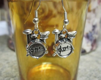 Drum Set Earrings - Free Shipping!