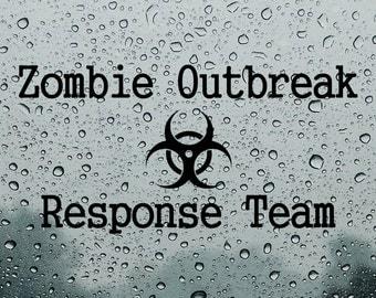 Biohazard Sticker Etsy