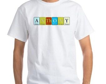 Chemistry tshirt etsy for Custom periodic table t shirts