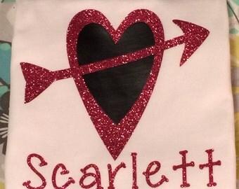 Vinyl Heart Shirt