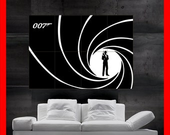 James Bond 007 Poster art print wall HH10257 S42