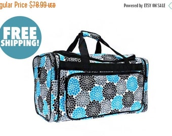 """Moms Sale Pre-packed Deluxe """"Big Day"""" Flower Duffel"""