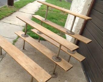 Vintage Gym Locker Benches