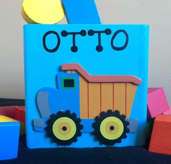 Toy Dump Trucks For Boys : Wooden dump truck toy for boys baby toys