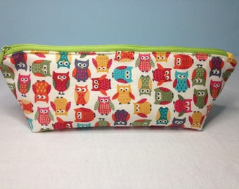 Zippered Pencil Case/Jewellery Case/Cosmetics/Sunglasses Case
