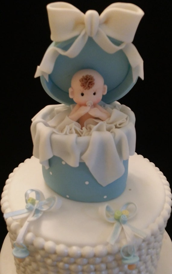 Baby Boy Cake Topper, Baby Cake Topper, Baby Shower Cake Topper, Baby Boy  Cake Topper, Boy Cake Topper, Blue Baby Shower, Boy Baby Shower