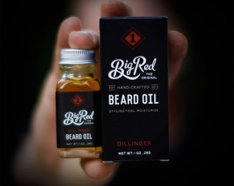 1 oz. Big Red Beard Oil - Dillinger