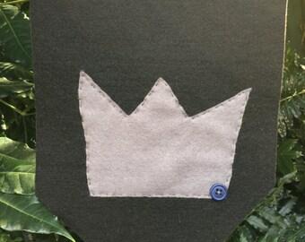 Crown Felt Banner