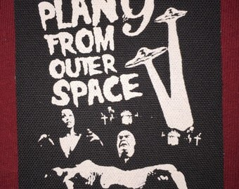 Plan 9 From Outer Space Cloth Punk Patch