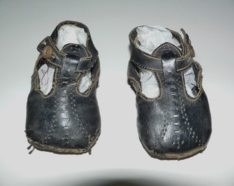 Antique 1900's Childs Mary Jane Shoes