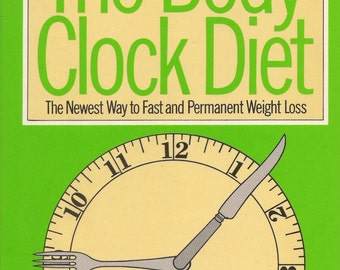 ISBN 0671228978 The Body Clock Diet Book: The Perfectly Natural Way to Control Weight by  Ronald Gatty 1978 Hardcover.