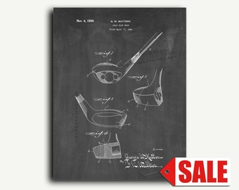 Patent Print - Golf-club Head Patent Wall Art Poster