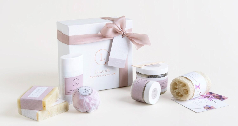 Bath Set Bridesmaid Gift Set Bath Gift Set Lavender Spa
