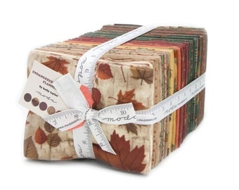 Endangered Sanctuary Flannel Fat Quarter Bundle by Holly Taylor for Moda Fabrics. 6650ABF