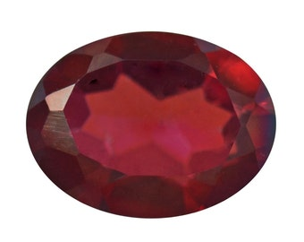 Mystic Presumptuous Red Quartz Oval Cut Loose Gemstone 1A Quality 8x6mm TGW 1.00 cts.