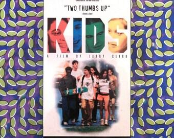 KIDS VHS Harmony Korine Larry Clark Chloe Sevigny skateboarding