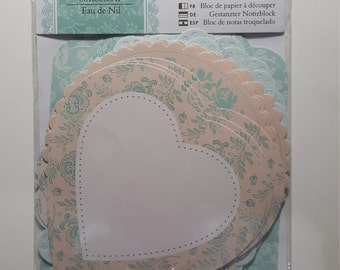 Docrafts Papermania Die-Cut Notelets