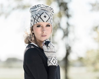 Fall for woman, toque a folds, Tuque Hat