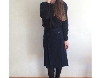 Vintage blue skirt
