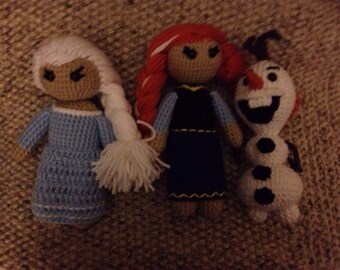 Frozen Inspired dolls