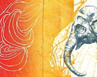 PRINT: Elephant