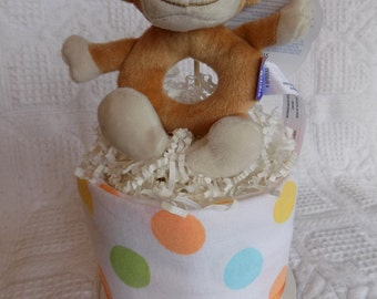 Mini Diaper Cake ~Silly Monkey~