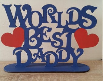 Lovely gift for dads of any age. Ideal for Fathers Day or a unique birthday gift. Customised in you choice of colours.