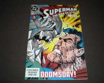 Superman The Man of Steel 19, (1993), Doomsday!, DC  C07
