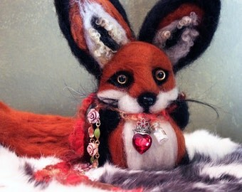 Lucky Red Fox Poppet