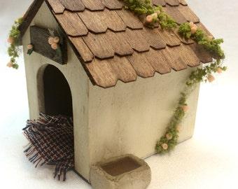 Miniature Handmade House Pet.