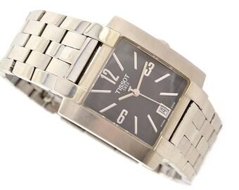 Tissot 1853 T-Trend L860/960 Stainless Steel Mens Quartz Watch 1221 - Make me an offer!