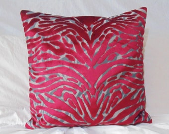 Designers Guild & Christian Lacroix Fabric Soft Pantigre-Papaye Cushion Cover / Pillow