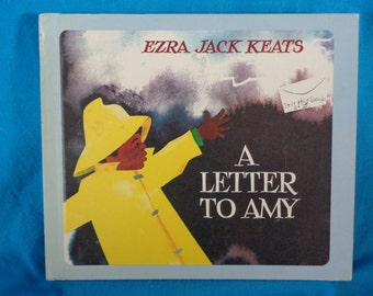 vintage 1968 A Letter to Amy book by Ezra Jack Keats