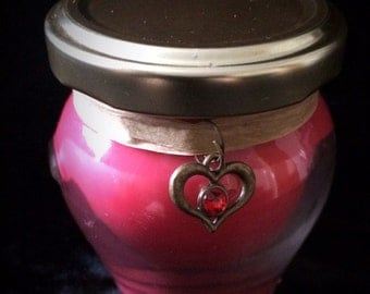 Love Spell soy jar candle
