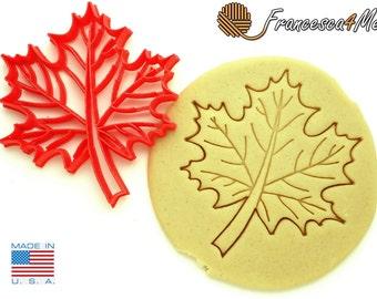 Maple Leaf Cookie Cutter/ Multi-Size