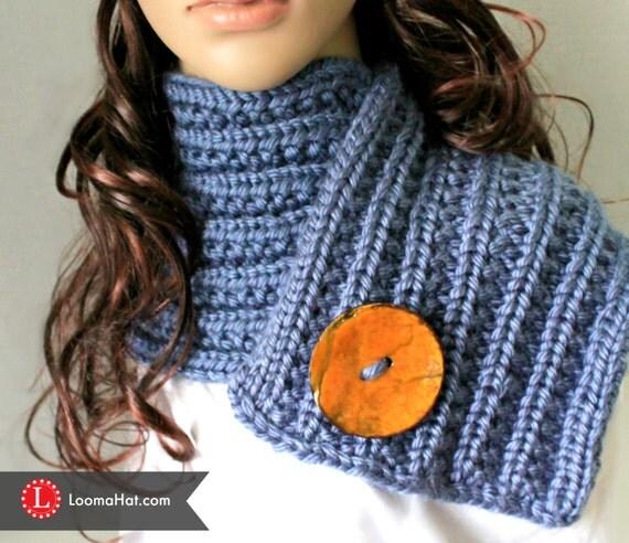 Loom Knit Rib Stitch Hat : Loom Knit Hat & Scarf PATTERNS Farrow Rib Stitch Set by LoomaHat