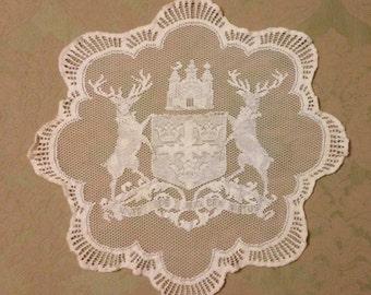 Nottingham Logo Doily