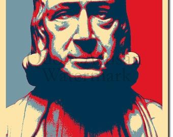 John Wesley Original Art Print - Photo Poster Gift