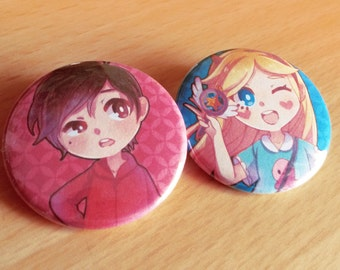 Star vs the Forces of Evil【 Button 】