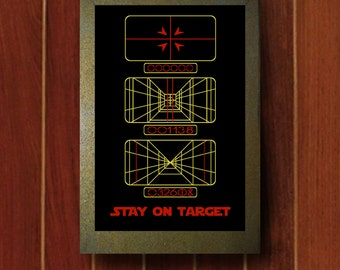 Stay on Target: Star Wars Print