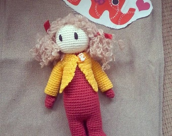 Berry the crochet doll