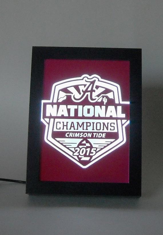 Alabama Man Cave Decor : Alabama crimson tide national champions football