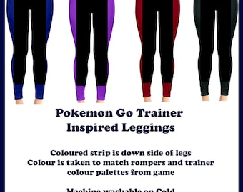 Pokemon Go Trainer Leggings