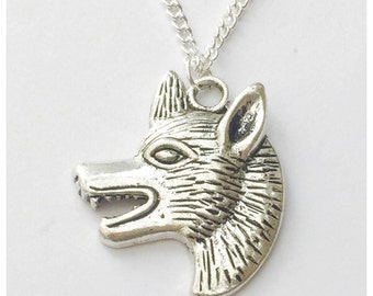 The Wolf Head Necklace