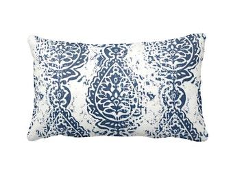SALE | 30% OFF: Navy Blue Decorative Throw Pillow Cover Blue Pillow Accent Pillow 12x16 12x18 12x20 12x22 12x24 14x14 Inches