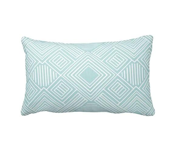 Blue Lumbar Throw Pillow : Blue Lumbar Pillow Covers Light Blue Pillow Covers Decorative